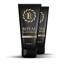 Royal Black Mask impotriva acneei, cosurilor si punctelor negre