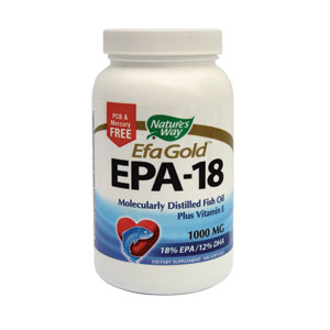 EPA 18 (acizi grasi Omega-3) 100cps Nature's Way