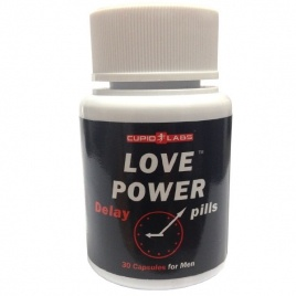 Love Power Delay Pills, 30 caps
