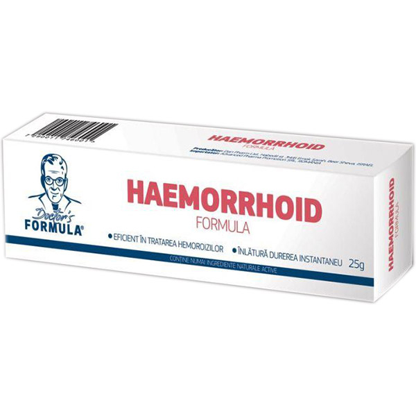 Haemorrhoid Gel Doctor`s Formula 25g